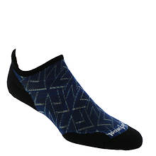 Smartwool Men's PhD Run Light Elite Print Micro Socks