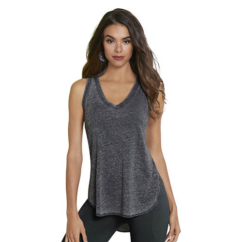 Burnout V-Neck Tank