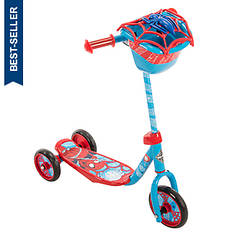 Huffy Marvel Spiderman 3-Wheel Scooter