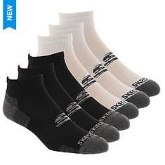 Skechers Men's S112465 6-Pack Quarter Socks