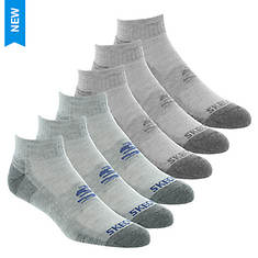 Skechers Men's S112465 6-Pack Quarter Socks