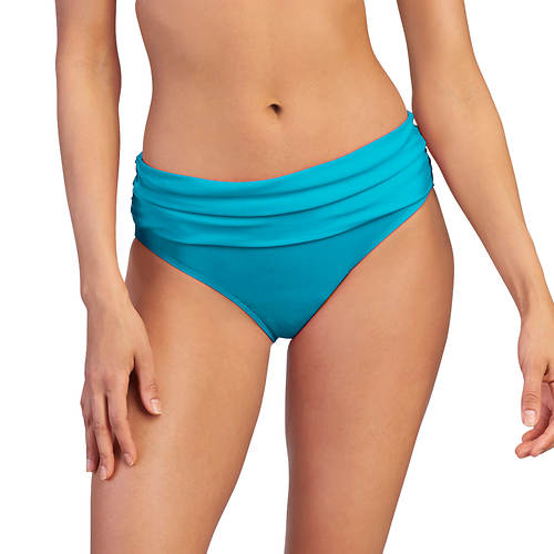Ruched Mid-Rise Bottom