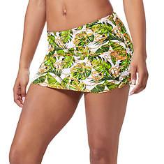 Ruched Swim Skirt