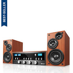 Innovative Technology 50-Watt Classic CD Stereo