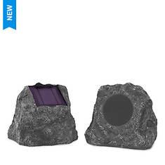 Innovative Technology 2-Piece Outdoor Rock Speakers Set