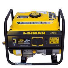 FIRMAN 1500/1200 Watt Gas Generator