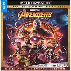 Avengers:  Infinity War (Hi Def)