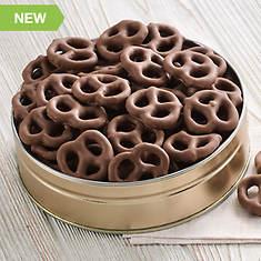 No Sugar Added Chocolate Covered Pretzels