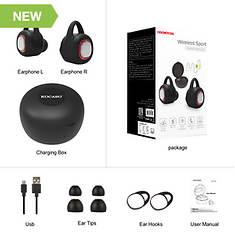Kocaso Wireless Bluetooth Earbuds