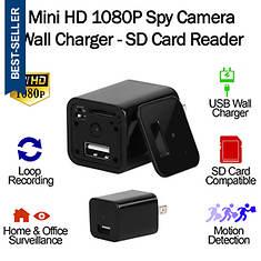 Kocaso 1080p Wall Charger Spy Camera