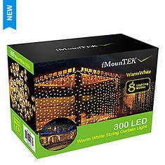 300 LED Warm White String Curtain Light