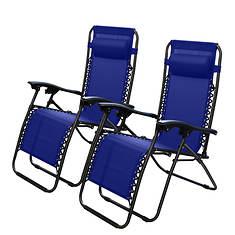 Kocaso Zero Gravity Lounge Chair 2-Pack