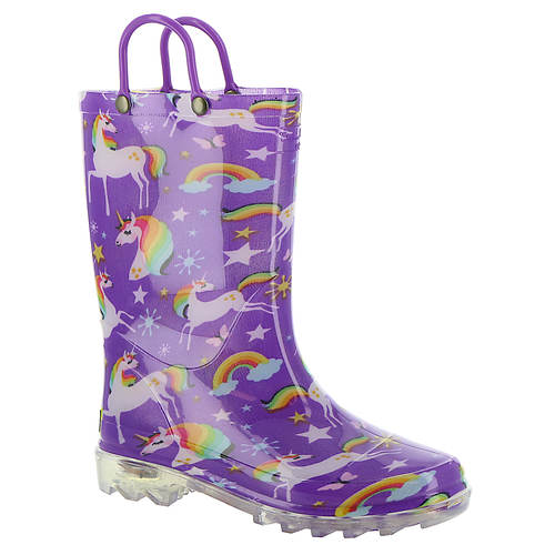 6bb8db743a4 Western Chief Rainbow Unicorn Lighted (Girls' Toddler-Youth) | FREE Shipping  at ShoeMall.com
