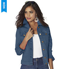 Basic Colored Jean Jacket