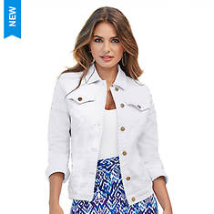 Basic Colored Jean Jacket