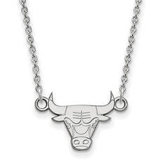 Sterling Silver NBA Logo Necklace