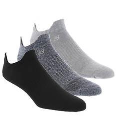 New Balance LAS08353 Double Tab 3-Pack Socks