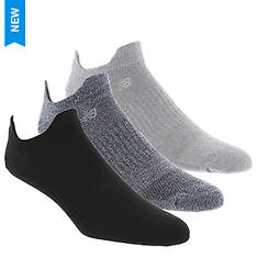 New Balance LAS08353 Double Tab 3-Pack Socks