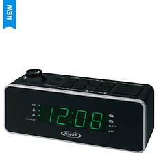 Jensen Dual Alarm Clock Projection Radio