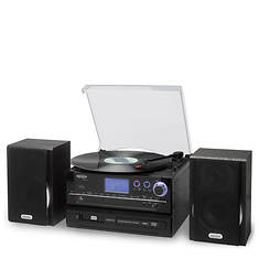 Jensen 3-Speed Stereo Turntable CD Recording System