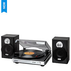 Jensen 3-Speed Stereo Turntable with Stereo Speakers