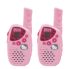 Hello Kitty 2-Piece Walkie Talkie Set