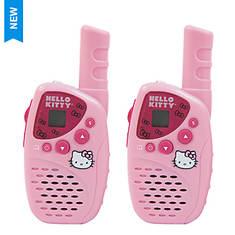 Hello Kitty 2-Piece Walkie Talkie Set