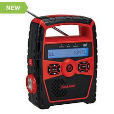 First Alert Portable Weather Band AM/FM Radio