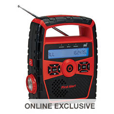First Alert Portable Weather Band AM/FM Radio