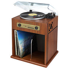 Studbaker 3-Speed Stereo Turntable with Bluetooth