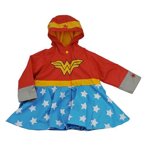 Western Chief Girls' Wonder Woman Rain Coat