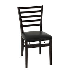 Cosco Wood Folding Chair with Fabric Seat 2-Pack