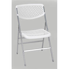 Cosco Resin Mesh Folding Chair 4-Pack