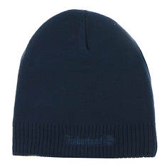 Timberland Men's Embroidered Logo Knit Beanie
