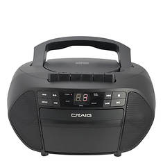 Craig CD/Cassette Boombox with Radio