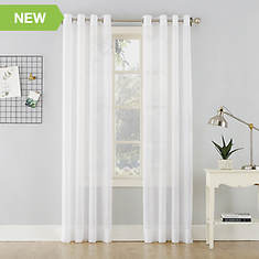 Erica Grommet Crushed Voile Curtains