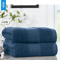 Pure Cotton 2-Pack Bath Sheets