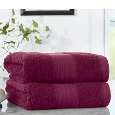Pure Cotton 2-Pack Bath Towels