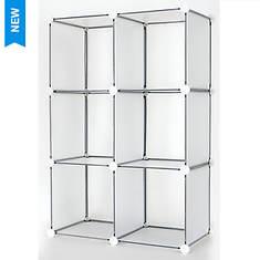 6-Cube DIY Modular Storage Unit