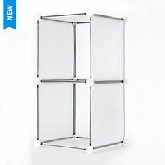 2-Cube DIY Modular Storage Unit