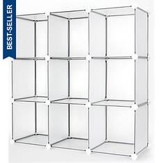 9-Cube DIY Modular Storage Unit