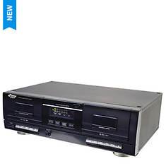 Pyle Dual Cassette Deck with MP3 Conversion