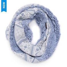 MUK LUKS Women's Snow Day Eternity Scarf