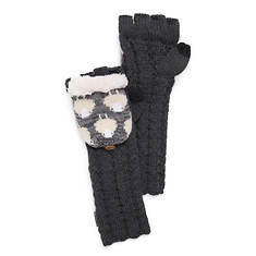 MUK LUKS Women's Counting Sheep Long Flip Mittens