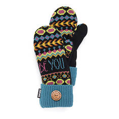 MUK LUKS Women's Love Yourself Potholder Mittens