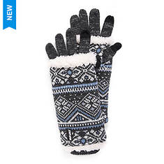 MUK LUKS Women's Snow Day 3-in-1 Gloves