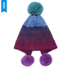 MUK LUKS Women's Marl Me Pom Hat