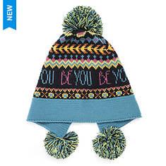 MUK LUKS Women's Love Yourself Pom Hat