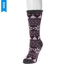 MUK LUKS Women's 1-Pair Heat-Retainer Thermal Socks