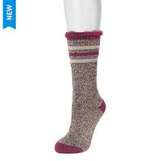 MUK LUKS Women's 1-Pair Heat-Retainer Thermal Socks